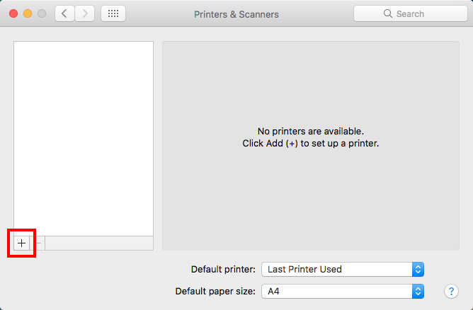 For employees: install the Follow-Me printer for Mac OS X